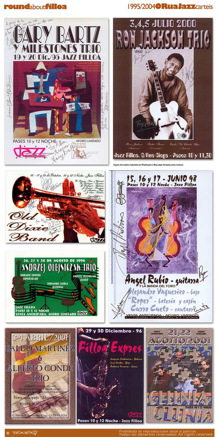 Doble Sesion: Don Pullen (Random Thoughts) & Don Byas Quartet feat. Sir Charles Thompson Rua08carteles2